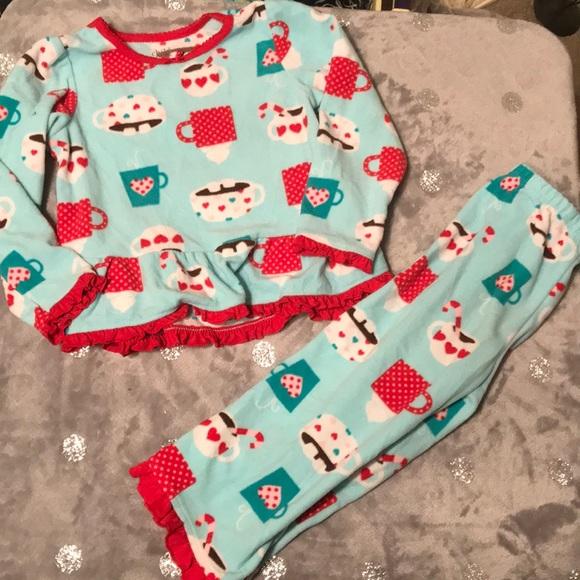 139c85c104f7 Carter s Other - ❤  8 CARTER s hot chocolate winter pajama set